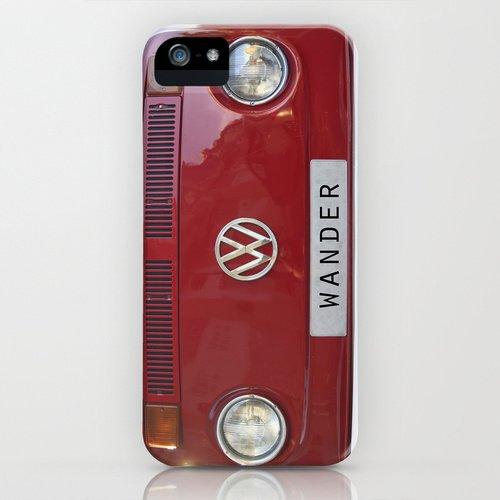 society6 iPhone5/5sケースWander wolkswagen. Summer dreams. Redフォルクスワーゲン デザイナーズiPhoneケース