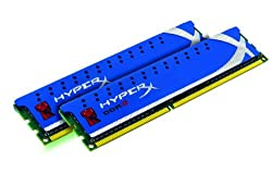 Kingston Technology HyperX 8 GB (2x4 GB Modules) 1600 MHz DDR3 Dual Channel Kit (PC3 12800) 240-Pin SDRAM KHX1600C9D3K2/8GX
