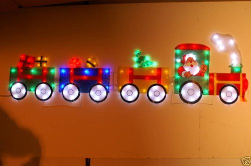 Christmas Concepts 189Cm 3 Carraige Train Led Silhouette (Nl65)