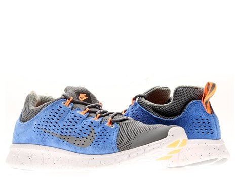 huge selection of b5f00 d65f8 Nike Free Powerlines 2 LTR Mens Running Shoes 599476 004 Dark Gray 9 M US