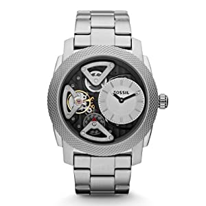 Fossil Men's Quartz Watch Mechanical Twist ME1120 with Metal Strap