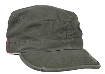 Rothco Vintage Fatigue Men's Fitted Hat - M - Olive