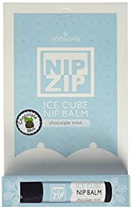 Sensuva Nip Zip Chocolate Mint Kissable Nipple Balm