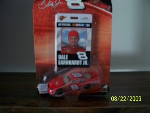2004 NASCAR Winner's Circle . . . Dale Earnhardt Jr. #8 JR Motorsports 1/64 Diecast . . . Includes Official Fan Club Card - 1