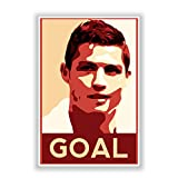 PosterGuy Cristiano Ronaldo Goal Manchester United Football And Sports Legends Poster