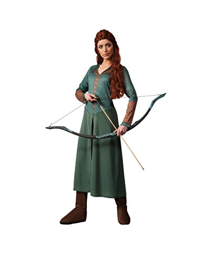 Lotr Hobbit 2 Desolation of Smaug Tauriel Elf Womens Halloween Costume