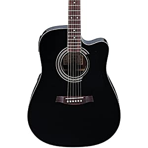 Ibanez V70CE Acoustic-Electric Guitar Black from Ibanez