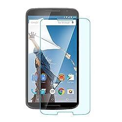Heartly Arc Edge Screen Guard Protector for Motorola Google Nexus 6 4G LTE