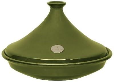 Emile Henry Flame Tagine Olive 35cm by Chomette Dornberger