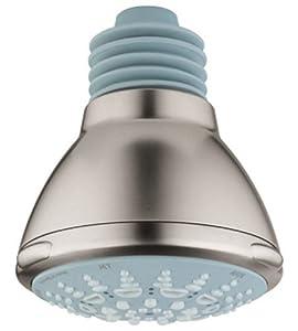 Grohe 27 068 EN0 Relexa Ultra 5 Shower Head, Infinity Brushed Nickel