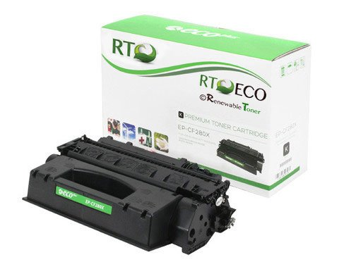 RT ® PRO HP CF280X (HP 80X) High Yield (6,900 Pages) Compatible Toner Cartridge for HP LaserJet Pro 400 Printers: MFP M401, M401n, M401dn, M401dne, M401dw, M425dn