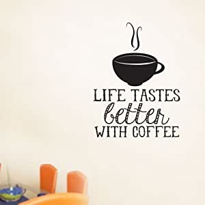 WQL000323_48 Life Tastes Better 48 Inch Quote Vinyl Wall Decal