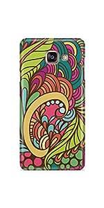 Casenation Colourful Floral Samsung Galaxy A5 (2016) Matte Case