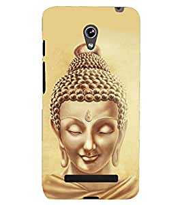 D KAUR Lord Buddha Lovers Back Case Cover for Asus Zenfone 5 A501CG::Asus Zenfone 5 A500CG
