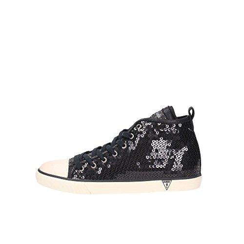 Guess FL4JETSAT12 Sneakers Donna Tessuto Nero Nero 35