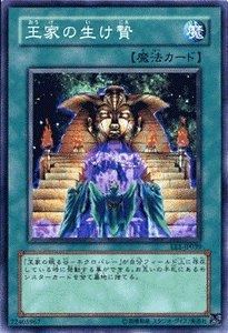 遊戯王カード 【 王家の生け贄 】 EE1-JP039-N 《エキスパートエディション1》