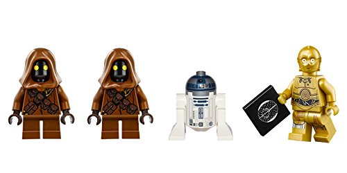 LEGO Star Wars Minifigures - C-3PO and 2 Jawas, plus an R2-D2 Astromech Droid from 75136. No Retail Packaging.