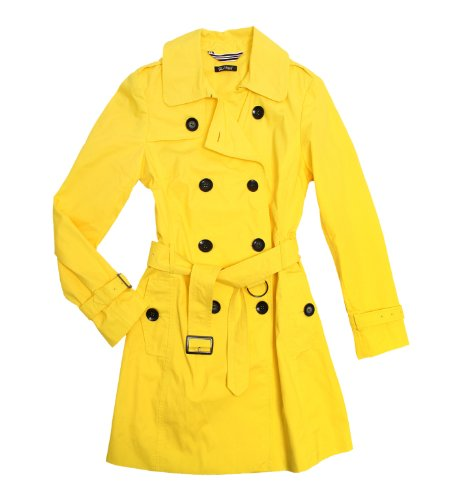 Peek Peek & Cloppenburg Women's Summer Trench Coat, Yellow, Size 12