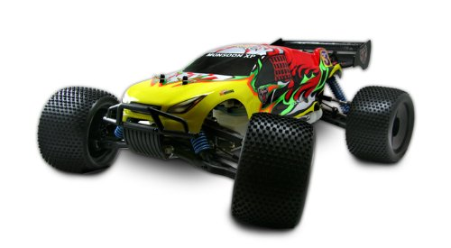 Monsoon XTR 1/8 Scale Nitro Truggy 4 Wheel Drive RC-Car