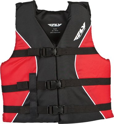 FLY Life Vest Red/Black Youth 46022784 YOUTH RED