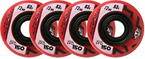 HYPER Inline Wheels PRO 150 OUTDOOR HOCKEY 72mm 83A x4 by Hyber Wheels
