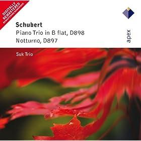 Schubert : Piano Trio No.1 & Piano Trio, 'Notturno' - Apex