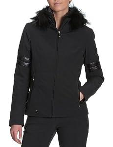 spyder posh jacket veste ski femme noir 42 sports et loisirs. Black Bedroom Furniture Sets. Home Design Ideas
