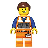 LEGO Movie Emmet Minifigure Clock, Orange, 1-Piece Plastic