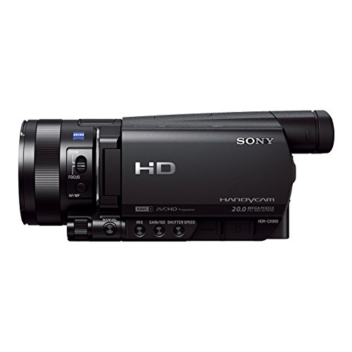 Sony-HDR-CX900-High-Definition-Flash-Camcorder-25-cm-1-Zoll-Exmor-R-Sensor-12-fach-optischer-Zoom-eingebauter-ND-Filter-WiFi-NFC-Funktion-schwarz