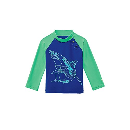 Coolibar upf 50 baby rash guard sun protective uv for Baby rash guard shirt