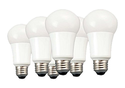 TCP New 60 Watt Equivalent 6-pack, A19 LED Light Bulbs, Non-Dimmable Daylight, LA950KND6 (Tcp Led Bulbs compare prices)