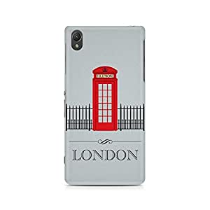 Ebby London Phone Booth Premium Printed Case For Sony Xperia Z2 L50W