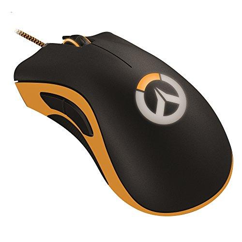 Razer Overwatch DeathAdder Chroma - Gaming Mouse Ergonomico con Illuminazione LED RGB Multi-Colore - Sensore da 10,000 dpi