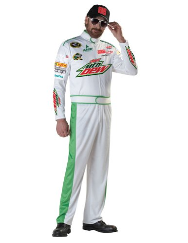 Adult-Costume Dale Earnhardt Jr Adult Costume Md Halloween Costume
