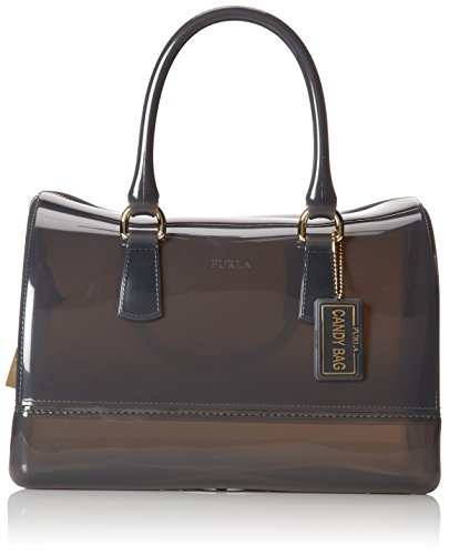 FURLA Candy Medium Satchel Handbag,Mist,One Size
