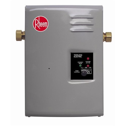 Rheem RTE 9 Electric Tankless Water Heater, 3 GPM (Instant Hot Water Heater For Rv compare prices)