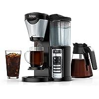 Ninja CF021 Coffee Brewer with 43 oz. Carafe (Black/Stainless Steel)