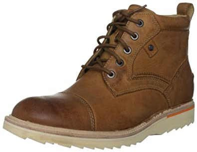 Rockport Men's Union Street Cap-Toe Boot, Caramel, 13 M US