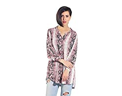 Chique Women's Shirt (pinkbds_Pink_Large)