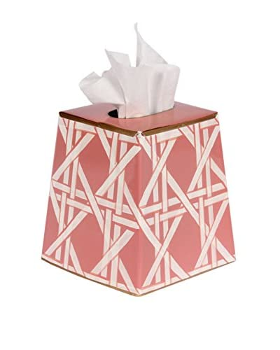 Jayes Cane Tissue Box Cover, Pink