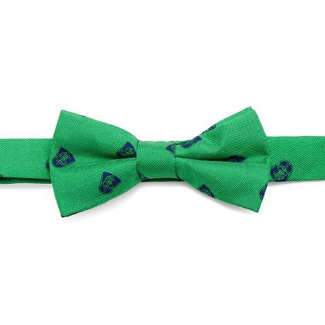 Star Wars Boys Silk Bow Tie (Darth Vader - Green Summer)