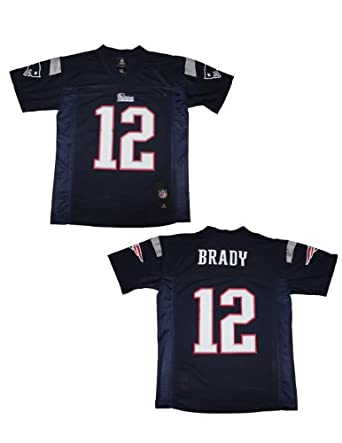 NFL New England Patriots Brady #12 Youth Athletic Short Sleeve Jersey by NFL