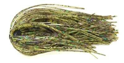 Gambler Lures Ko Punch Skirt Fishing Jig - Pack Of 2 Green Pumpkin Watermelon Candy Camo by Gambler Lures