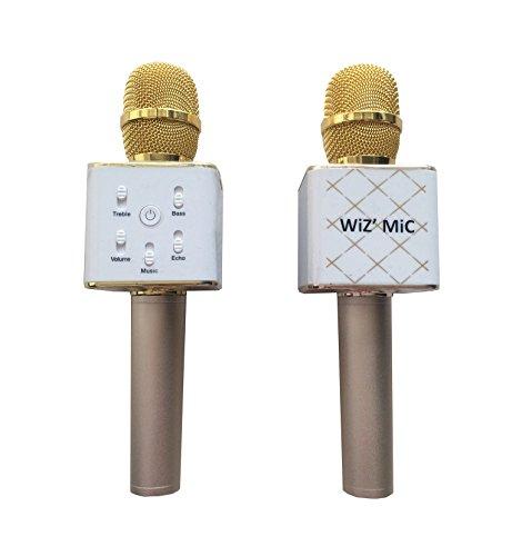 micro-karaoke-bluetooth-avec-haut-parleur-sans-fil-couleur-doree