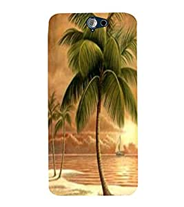 Coconut tree Back Case Cover for HTC One A9