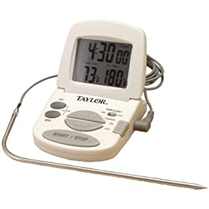 Taylor Digital Cooking Thermometer/Timer