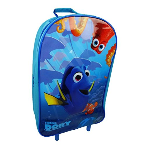 Official Disney Finding Dory Wheeled Trolley Hand Luggage Travel Bag Suitcase (Trolley Bag Uk compare prices)