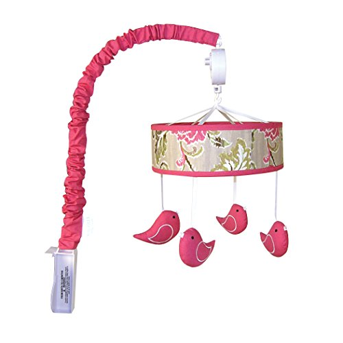 Trend Lab Mobile, Waverly Jazzberry (Bird Baby Mobile compare prices)