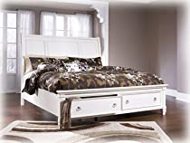 Hot Sale King Sleigh Bed by Ashley Furniture