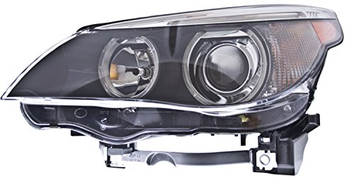 HELLA H11077031 BMW 5 Series E60/E61 Driver Side Headlight Assembly (2004 Bmw 525i Headlights Assembly compare prices)